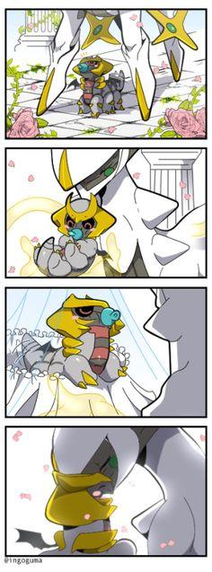 Resultado de imagen para giratina baby comic