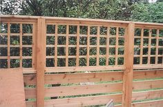 Deck Lattice - Deck lattice can also be used for p...