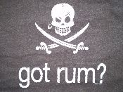 Pirates & Rum...its a beautiful thing.