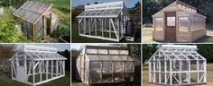 Greenhouses made off a Buildeazy plan