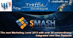 The next Marketing Level 2013 http://apsense.cc/aea706 Revolutionary in design, this feature-rich system will transform even the novice marketing into a top gun talent. Boasting elements such as Next Gen contact management and task planning, to features such as social media management, search engine optimization and a video Virtual Assistant. Smash Solution is a free, full service professional tool set that will catapult your business from lackluster to blockbuster. #smashsolution #prelaunch
