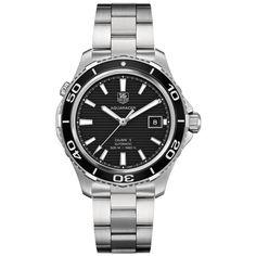 TAG Heuer Aquaracer men's automatic bracelet watch - WAK2110.BA0830