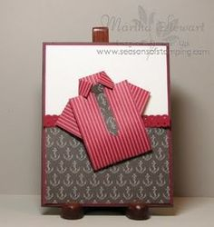 a variety of men's shirt cards 3D