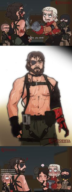 MGSV -Snake, you stink- by vtophya