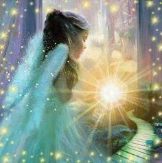 Anjos luz do seu caminho por Asmodel