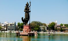Sur Sagar lake also known as the Chand Talao is a lake situated in middle of the city of #Vadodara in the State of #Gujarat in #India. The #lake is now being used for boating purposes, and looks extremely #beautiful particularly on moonlit nights. The lake is one of the most popular #tourist spots in Gujarat. #travel #attraction