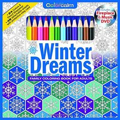 Winter Dreams Christmas Adult Coloring Book Set With Colored Pencils, Pencil Sharpener And Fireplace And Music DVD Included: Color Your Way To Calm Paperback –  by Newbourne Media (Author)   https://www.amazon.com/gp/product/1988137624/ref=as_li_qf_sp_asin_il_tl?ie=UTF8&tag=pinterest0e08-20&camp=1789&creative=9325&linkCode=as2&creativeASIN=1988137624&linkId=78594c33893f515a590a8682d4701f4b
