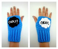 The Fault In Our Stars gloves | Community Post: The 33 Best Geeky Things To Buy On Etsy