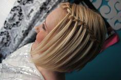 waterfall and french braid broganlogan.tumbl...