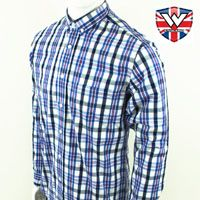 Vintage Long Sleeve Button Down Shirt by Warrior Clothing- NELSON