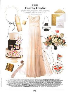 The new July issue of Brides Magazine features a THEIA bridal gown in a beautiful inspiration page  #THEIA #bridesmagazine #inspiration