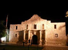 Alamo at Night...looks peaceful tonight