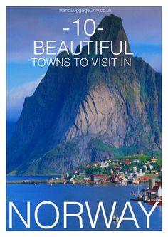 10 mooie dorpjes in Noorwegen die je tijdens je roadtrip kunt bezoeken.
