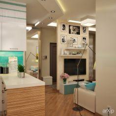 Морская тематика в интерьере гостиной: интерьер, квартира, дом, гостиная, современный, модернизм, 30 - 50 м2 #interiordesign #apartment #house #livingroom #lounge #drawingroom #parlor #salon #keepingroom #sittingroom #receptionroom #parlour #modern #30_50m2 arXip.com