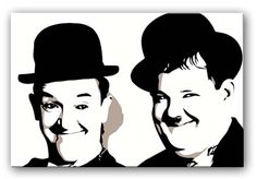 We loved Laurel and Hardy too.