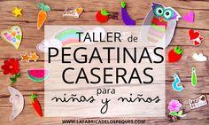 Taller de pegatinas caseras para niños y niñas