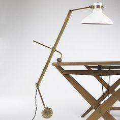Roberto Menghi, Libra-Lux Lamp for Lamperti & Co., c1948.