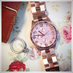 The beautiful Henry rose gold chronograph watch. Its a best seller! - Marc by Marc Jacobs