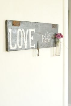Image of Love Blooms Here Sign