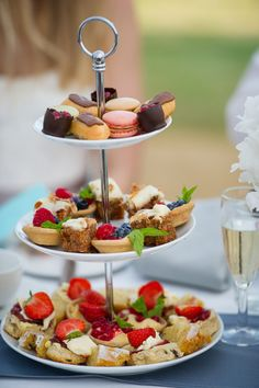 Mouth-watering afternoon tea