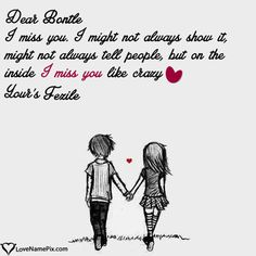 Write Name on Miss U Images For Lover Picture - Love Name Generator You Are Special Quotes, Missing You Love Quotes, Someone Special Quotes, Miss U Images, Love Images With Name, Cute Love Images, Karma Quotes, Breakup Quotes, Hurt Quotes