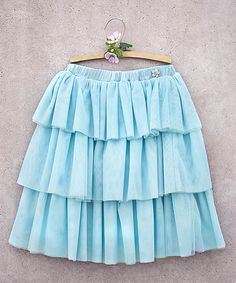 Another great find on #zulily! Blue Cece Skirt - Toddler & Girls by Joyfolie #zulilyfinds