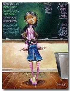 School Girl, I'm a associate teacher so had to have this pic, lovin it