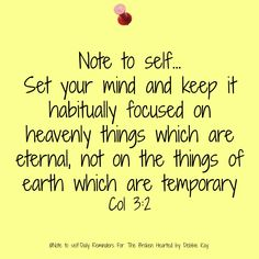 Note to self…April 27th | Note To Self – Daily Reminders For The BrokenHearted