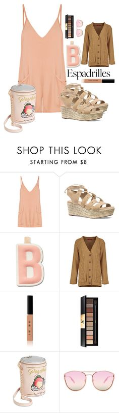 """""""Summer Feelings"""" by bitty-junkkitty ❤ liked on Polyvore featuring MATE the Label, MICHAEL Michael Kors, FOSSIL, Bobbi Brown Cosmetics, Yves Saint Laurent, Betsey Johnson and Quay"""