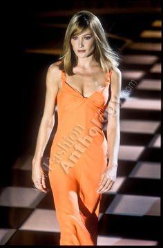 Gianni Versace - Spring Summer 1996 - Milan - Carla Bruni
