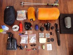 Planning a backpacking hike during your next RV adventure? Check out this great list of all the essential summer/winter backpacking gear.