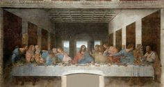 Centro / Center. La ultima cena,  Leonardo Da Vinci.