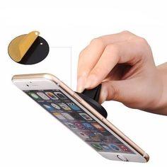 Suporte Veicular Magnetico Emborrachado Iphone Galaxy Moto G - R$ 24,99 em Mercado Livre