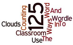 Word Clouds: 125  Ways... And Counting... To Use Wordle In The Classroom