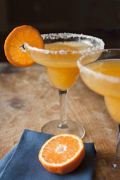 Tangerine Margaritas from @Muy Bueno