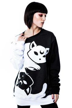 Yin Yang Sweatshirt [B]