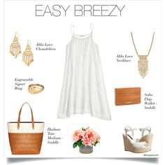 Lace-inspired jewels and the perfect tote make any Spring day look easy breezy! www.stelladot.com/hcdsmith #shopwithHCDSmith