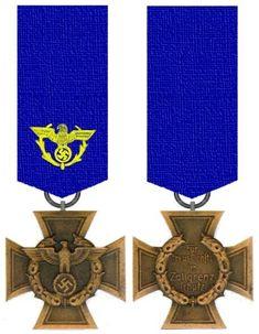 Zollgrenzschutz-Ehrenzeichen 1939 Ww2, Awards, German, Merit Badge, Deutsch, German Language