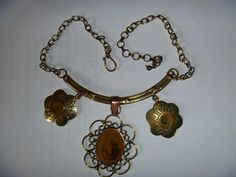Free Shipping  OOAK  Antique  Copper and by JanniesJunkandJems
