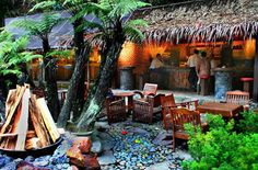 Tempat Wisata Kuliner di Bandung - Kampung Daun
