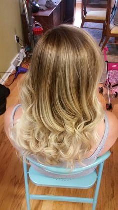 Balayage highlights by Lauren Brown.