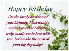 Everybody want Spacial her or his birthday friend. And Sending first birthday Sms is the best way to spacial for birthday friend.happy birthday sms for sister,happy birthday sms marathi,happy birthday sms in urdu, Happy Birthday Sms, Friend Birthday, It's Your Birthday, Funny Sms, Am In Love, Love Life, Big Day, First Birthdays, Funny Text Messages