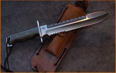 You're not bulletproof..., Relentless Knives - Custom M1A Spear Point