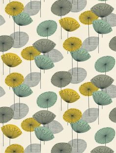 Sanderson's Dandelion Clocks is taken from the Options 11 wallpaper collection and is in stock and available for purchase.