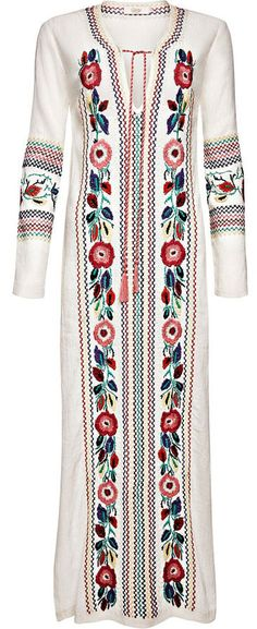 "Candela: Off White Coca Tunic - ""O Children of Adam Wear your beautiful apparel at every time and place of prayer: eat and drink: but wast not be excess, for Allah loveth not the wasters."" Surah Araf, 31"