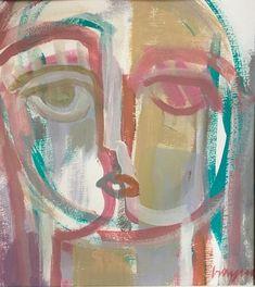 12x12 Acrylic on watercolor paper, Craig Greene