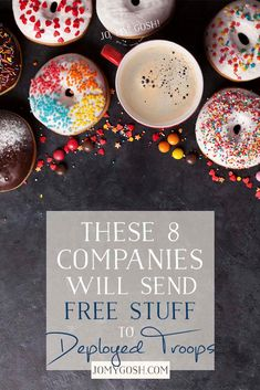 These 8 Companies Will Send Free Stuff to Deployed Troops Deployment Party, Military Deployment, Military Wife, Army Mom, Army Girlfriend, Military Marriage, Deployment Letters, Deployment Countdown, Military Relationships
