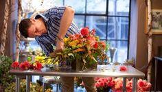 루이스 밀러 플로리스트 가을 디자인 클래스 _ 플라워스쿨 뉴욕 유학 연수   두드림 유학
