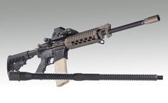 """GM-M11, 5.56, 5.56mm, finned, m4, 16"""", 16 inches, 1:7"""