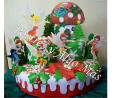 Tortas de Hadas Disney - Disney Fairies Cake